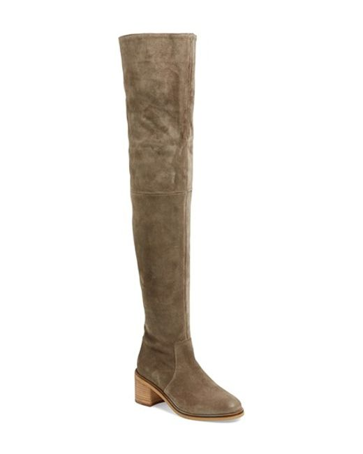 Seychelles | Brown 'sardonyx' Over The Knee Boot | Lyst