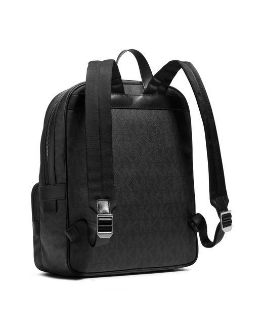Michael Kors | Black Jet Set Logo Backpack for Men | Lyst