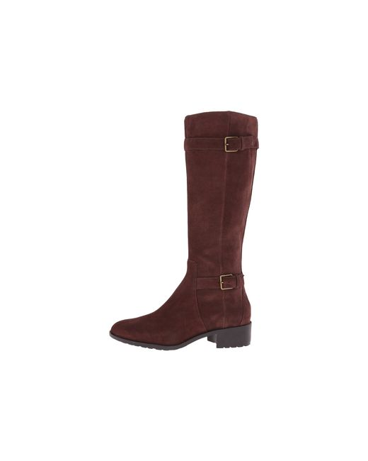 Cole Haan | Brown Putnam Waterproof Extended Calf Boot | Lyst