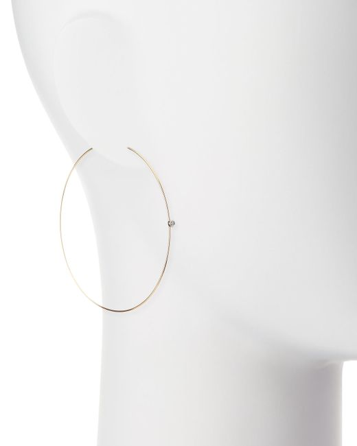 Lana Jewelry | Metallic Large Magic Diamond Hoops | Lyst