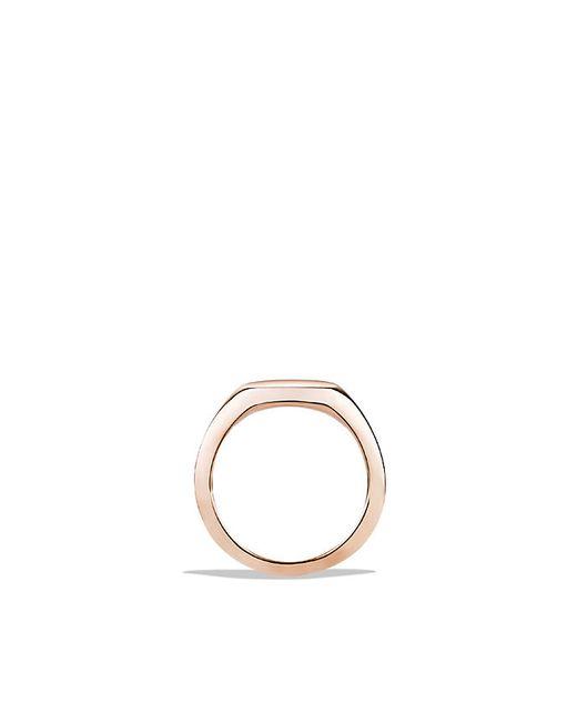 David Yurman | Mini Pinky Ring In 18k Rose Gold | Lyst