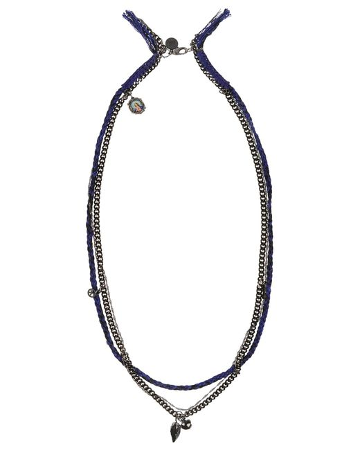 Venessa Arizaga | Blue Necklace | Lyst