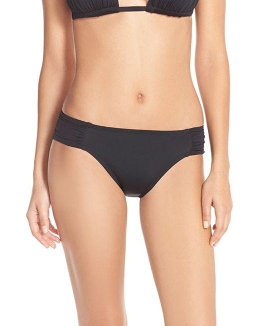 La Blanca | Black 'island Goddess' Hipster Bikini Bottoms | Lyst