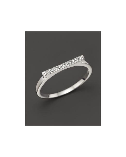 Dana Rebecca | Diamond Sylvie Rose Ring In 14k White Gold | Lyst