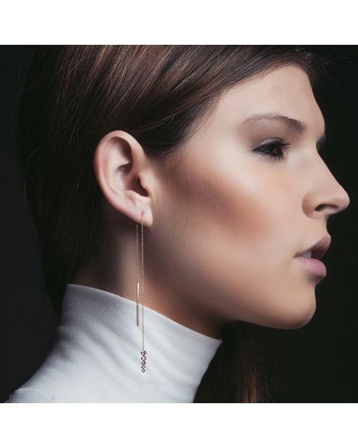 Carbon & Hyde | Metallic Bubbledrop Earrings | Lyst