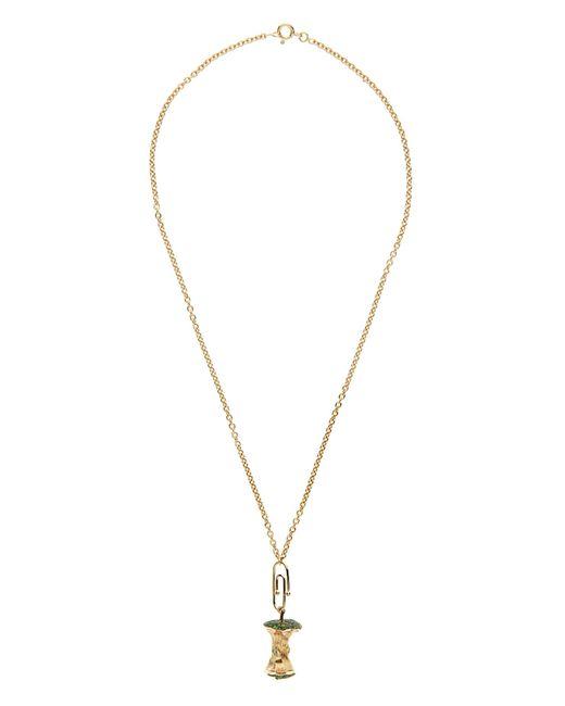 Aurelie Bidermann | Diamond, Tsavorite & Yellow-gold Necklace | Lyst