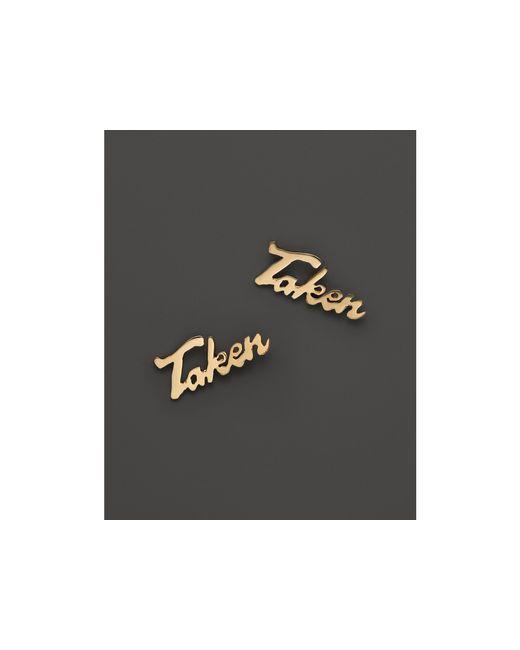 Lana Jewelry | 14k Yellow Gold Mini Taken Single Stud Earring | Lyst