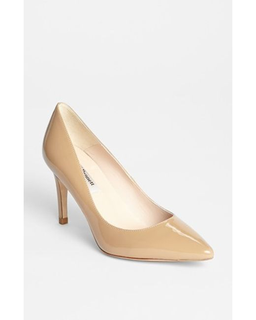 L.K.Bennett | Brown 'florete' Pump | Lyst
