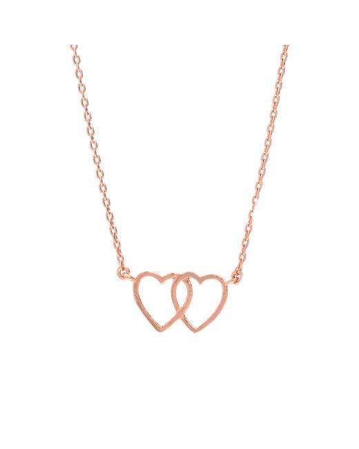 Bing Bang   Metallic Loved Up Necklace   Lyst