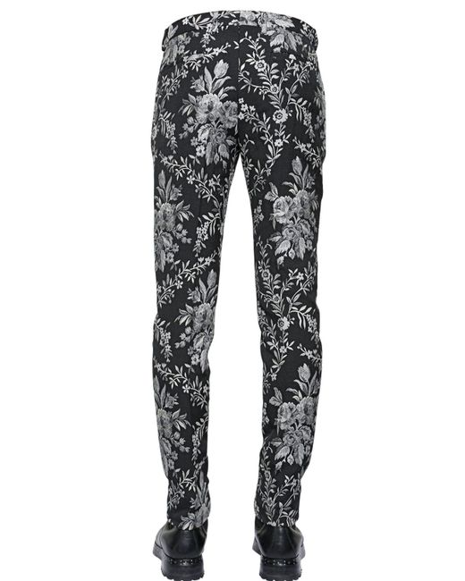 Dolce & gabbana Casual Pants in Black for Men - Save 38% | Lyst
