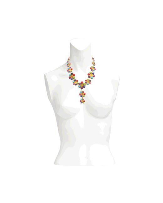 Sylvia Toledano   Multicolor Happy Flower Necklace   Lyst