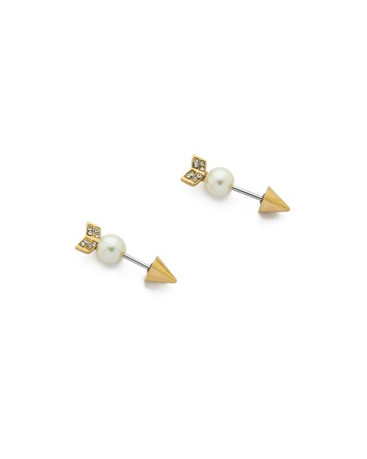 Rebecca Minkoff | Metallic Arrow Earrings | Lyst