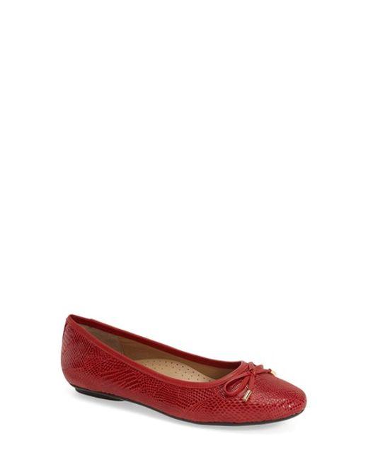 Vaneli | Red 'signy' Ballet Flat | Lyst