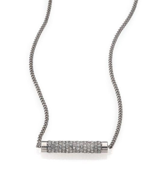 Vita Fede   Metallic Mia Mini Crystal Pendant Necklace   Lyst