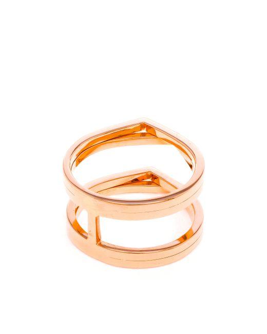 Repossi | Metallic 18k Rose Gold Antifier Ring | Lyst
