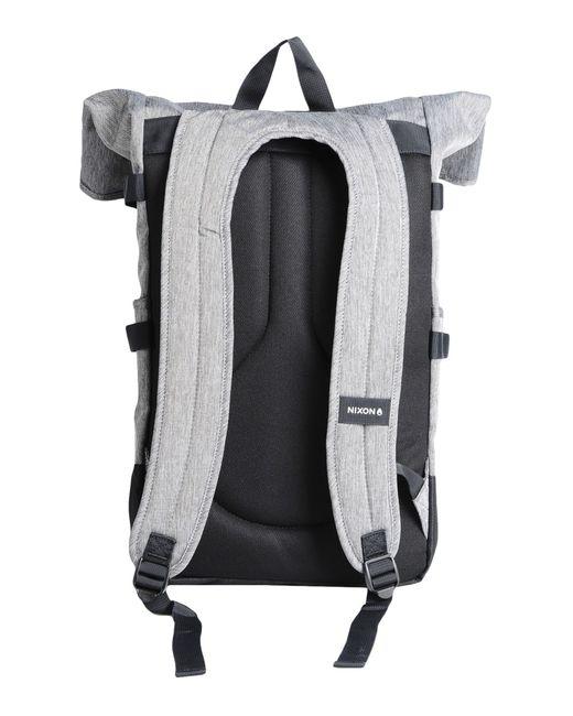 Nixon | Gray Swamis Backpack | Lyst