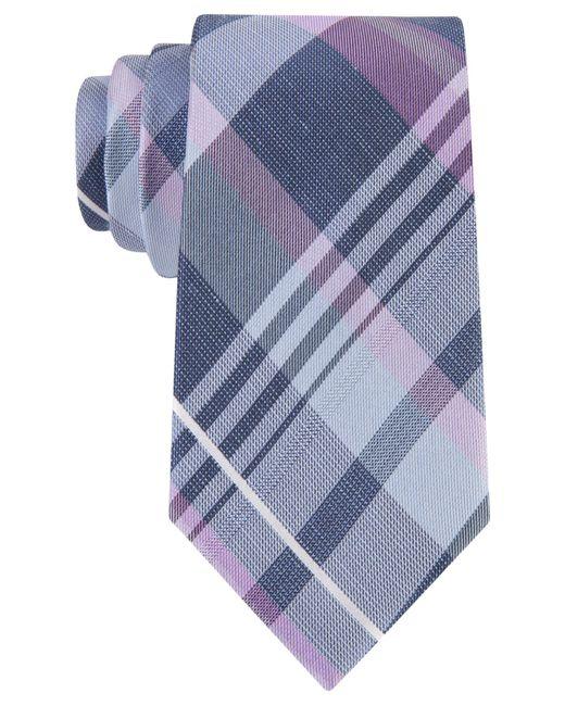 Michael Kors | Purple Michael Spring Plaid Tie for Men | Lyst