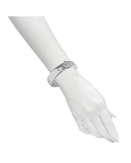 MM6 by Maison Martin Margiela | Metallic Clasp Bracelet | Lyst