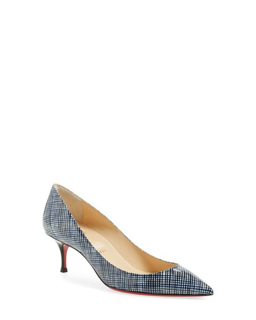 spiked christian louboutin loafers - Christian louboutin Pigalle Follies Low Patent Leather Pumps in ...