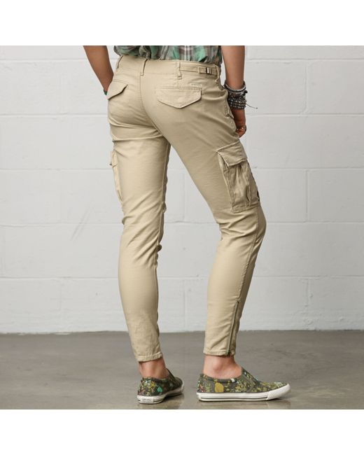 Denim & Supply Ralph Lauren | Natural Skinny Freedom Cargo Pant | Lyst
