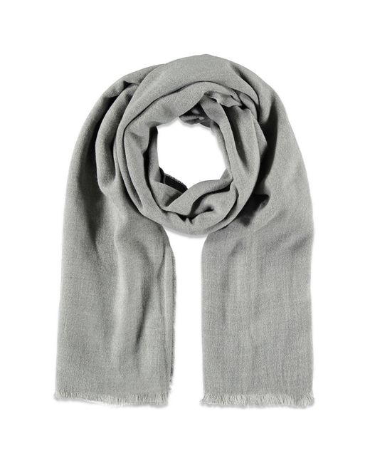 Forever 21 | Gray Frayed Oblong Scarf | Lyst