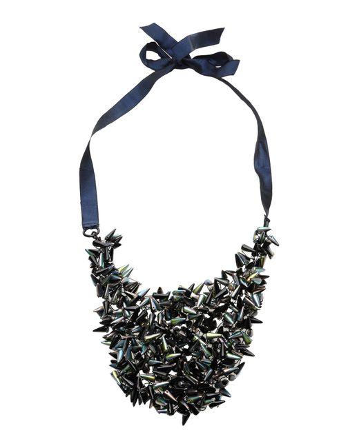 Jil Sander | Green Necklace | Lyst