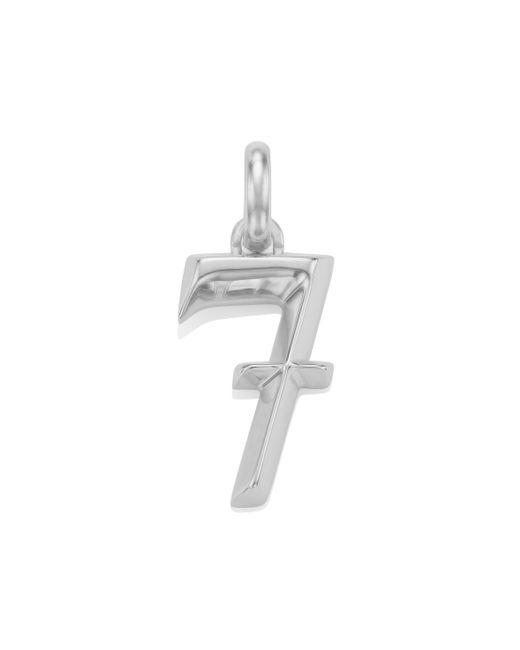 Monica Vinader | Metallic Alphabet Pendant Number 7 | Lyst