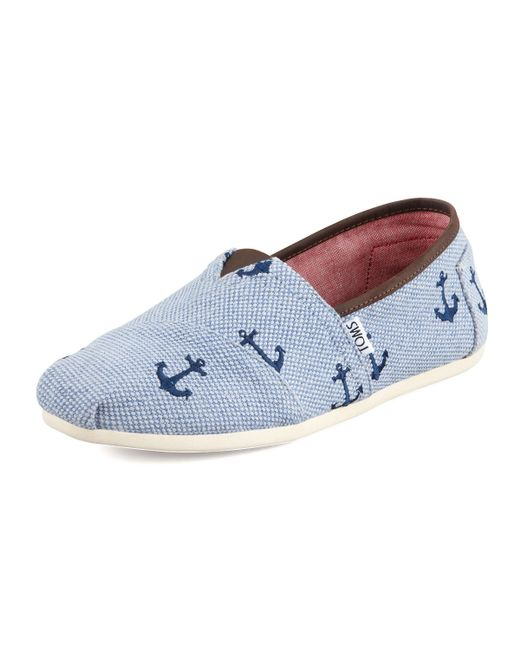 Anchor Toms Shoes For Sale