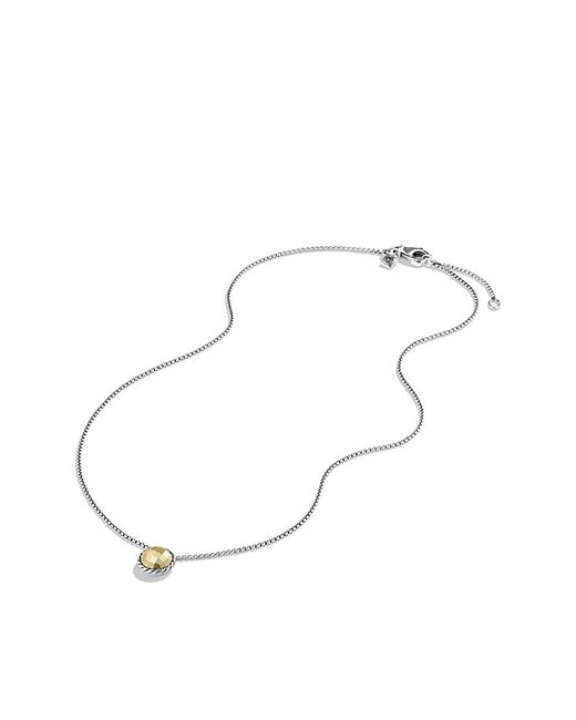 David Yurman | Metallic Chatelaine Necklace With 18k Gold | Lyst