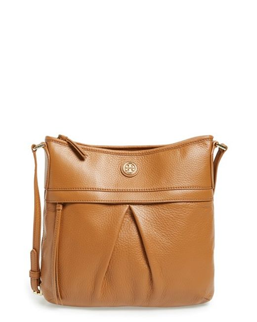 Tory Burch | Brown Leather Swingpack | Lyst