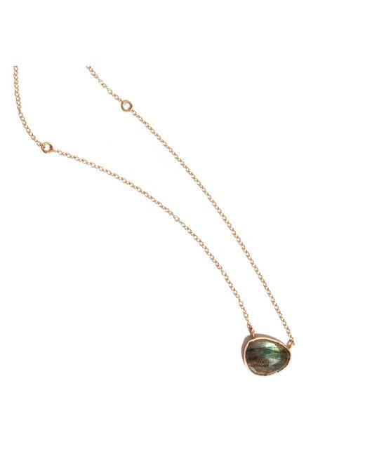 Melissa Joy Manning | Metallic Freeform Labradorite Necklace | Lyst