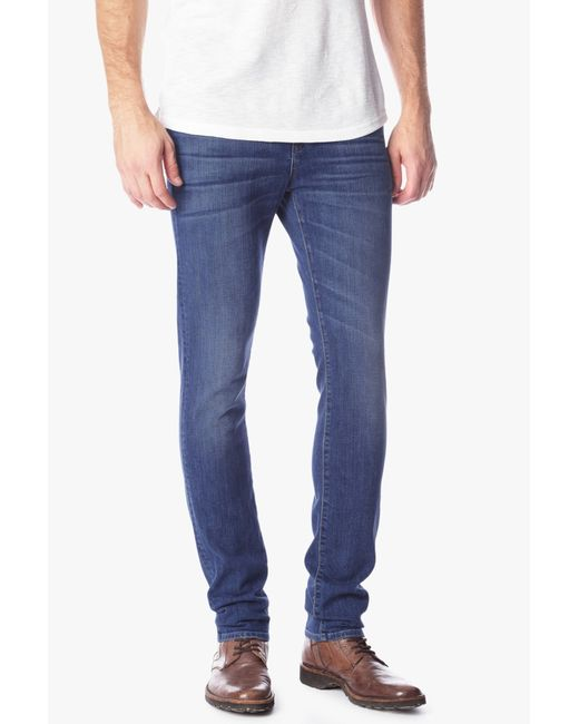 7 For All Mankind   Black Slimmy Luxe Performance Slim-fit Tapered Jeans for Men   Lyst