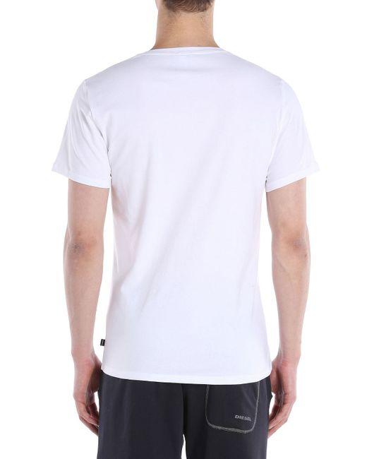 DIESEL   White Umtee-michael3pack for Men   Lyst