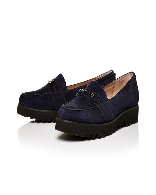 Moda In Pelle | Blue Fiama Low Smart Shoes | Lyst