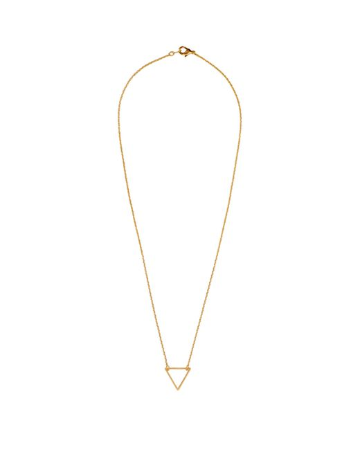 Baukjen | Metallic Wanderlust & Co Frame-Tri Necklace | Lyst