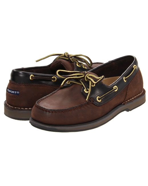 Rockport Ports Of Call Perth In Brown For Men Lyst