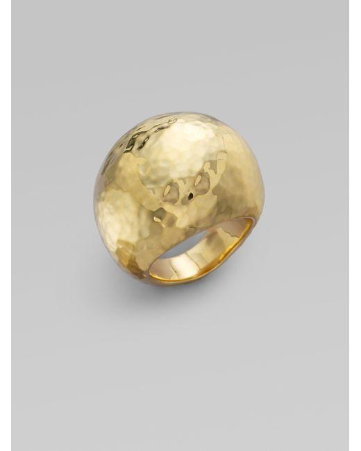 Ippolita | Metallic Glamazon 18k Yellow Gold Dome Ring | Lyst