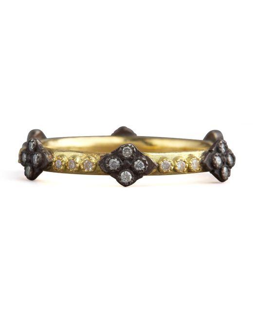 Armenta | Metallic Cravelli Cross Diamond Ring | Lyst
