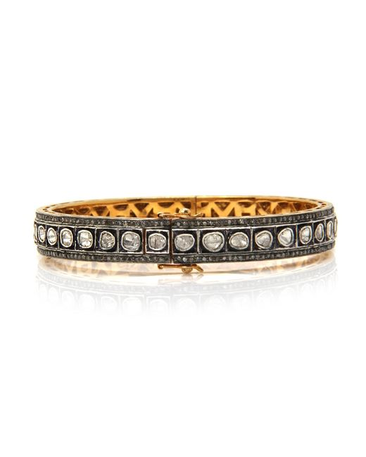 Sanjay Kasliwal | Metallic Gemâ palace Diamond Bracelet | Lyst