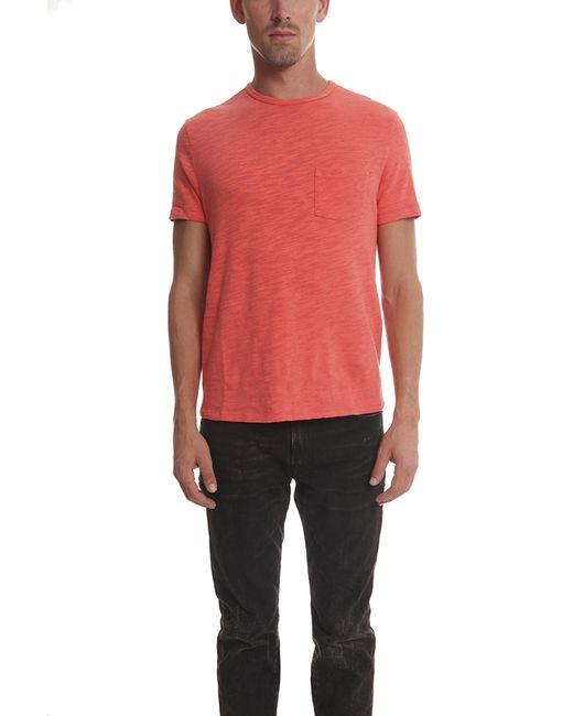 Rag & Bone | Red Basic T-shirt for Men | Lyst