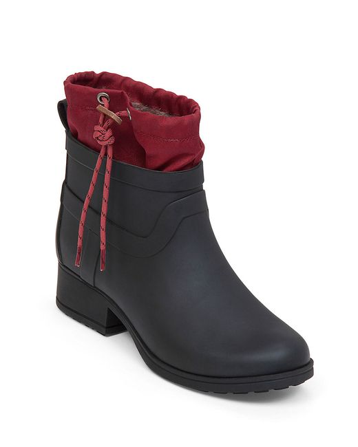 Lucky Brand | Black Rebeka Faux Fur-lined Ankle Boots | Lyst