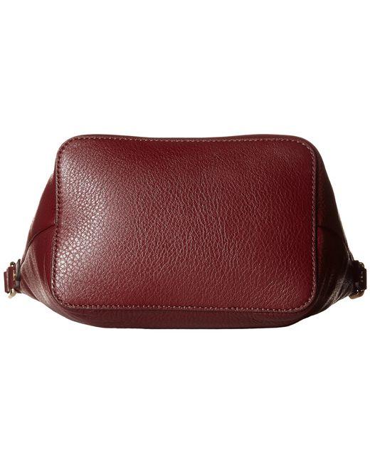 MICHAEL Michael Kors | Purple Brooklyn Large Grommeted Suede Camera Bag | Lyst
