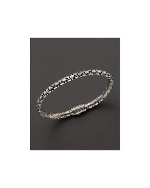 John Hardy   Metallic Sterling Silver Dot Small Chain Bracelet   Lyst