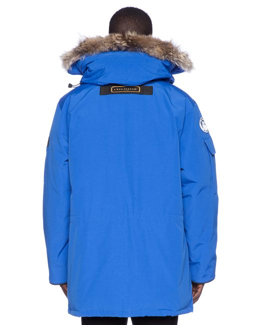 Canada Goose jackets replica official - Canada goose Expedition Down Parka in Blue for Men (Royal Pbi Blue ...