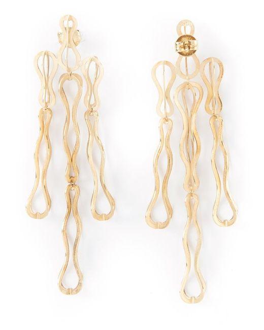 Antonio Bernardo | Metallic 'fertil' Earrings | Lyst