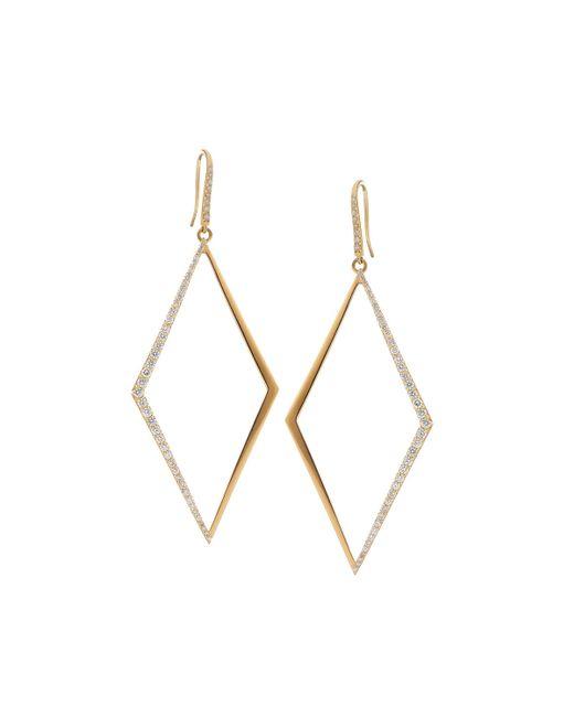 Lana Jewelry | Metallic Flawless Vol. 2 Diamond-shape Hoop Earrings | Lyst