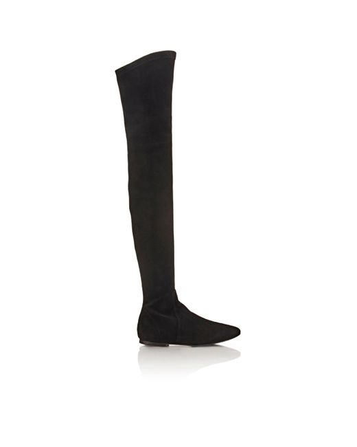 Isabel Marant   Black Brenna Suede Over-The-Knee Boots   Lyst