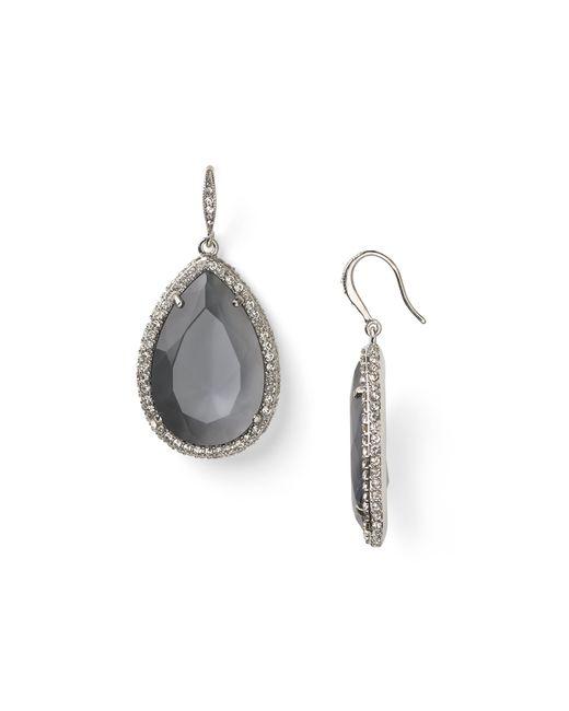 ABS By Allen Schwartz | Metallic Stone Drop Earrings | Lyst