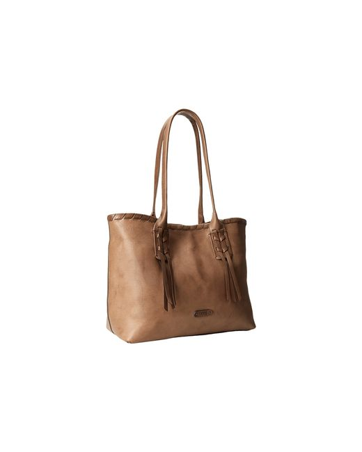 Frye | Brown Layla Concho Shopper | Lyst