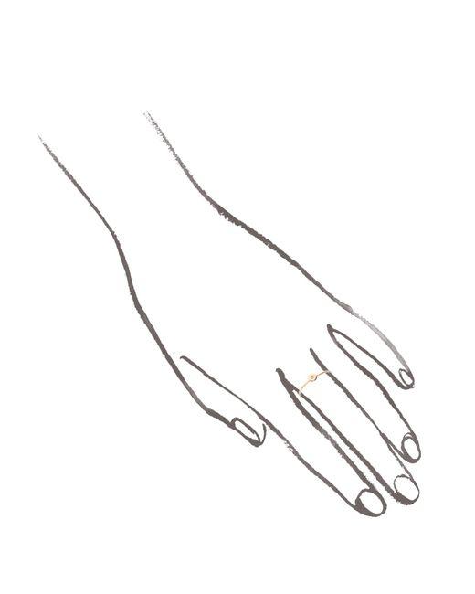 Melissa Joy Manning   Metallic White Diamond Ring   Lyst